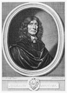 Figure 4: Faithorne, William, Portrait of John Ogilby, after Peter Lely, 1654, en-graving, National Portrait Gallery, Lon-don. In The Works of Publius Virgilius Maro, translated by John Ogilby. Lon-don: Printed by Thomas Warren for the author, 1654. NPG D19472.