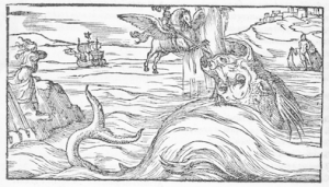 Illustration from Canto 10 of Orlando Furioso, Canto 4 of the Cinque Canti