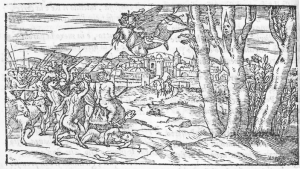 Illustration of Canto 6, Orlando Furioso 1554